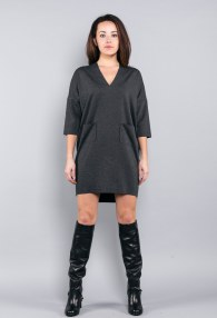 ABITO INTERO BLACK DRESS
