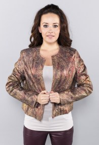 DIVINA GOLD/PURPLE JACKET