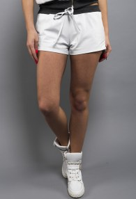 DIVINA WHITE/GREY SHORTS