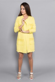 RINASCIMENTO YELLOW COAT