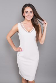 CHILIA BEIGE DRESS