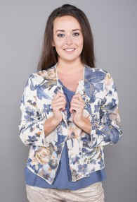 LE STREGHE FLORAL JACKET