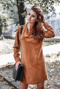 DIVINA LEATHER DRESS