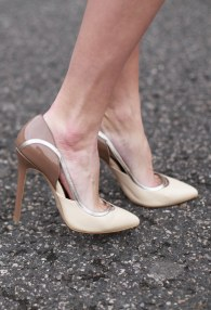 TUCINO BEIGE/BROWN HEELS