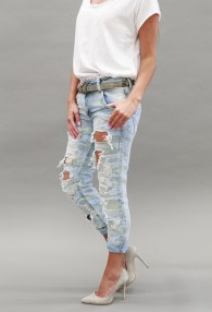 DISPLAY MORO RIPPED JEANS
