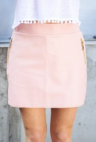 DIVINA LIGHT PINK SKIRT