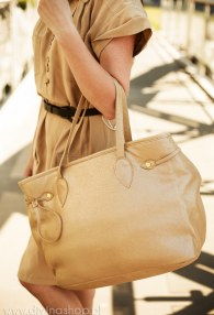 DIVINA GOLD COOPER LARGE BAG