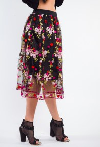 ANTONELLO SERIO FLOWERS SKIRT