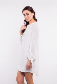 EUREKA CREAM DRESS