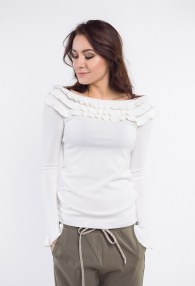 VICOLO CREAM SWEATER