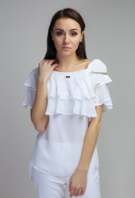 EUREKA WHITE BLOUSE