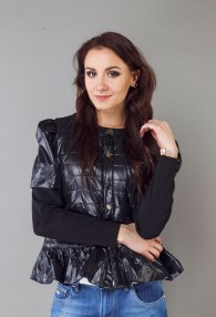 ROBERTA BIAGI BLACK JACKET