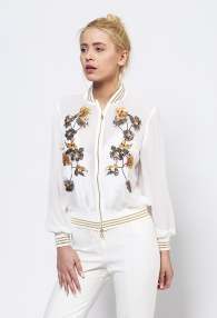 SERPIL WHITE BOMBER
