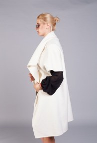 VICOLO CREAM COAT