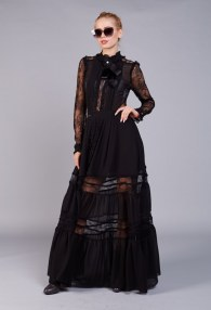 BABYLON LONG BLACK DRESS