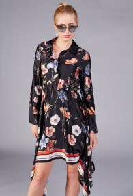 LE STREGHE FLOWERS DRESS