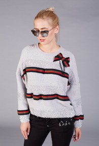 BABYLON GREY SWEATER