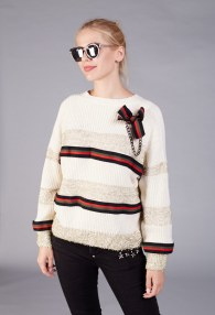 BABYLON CREAM SWEATER