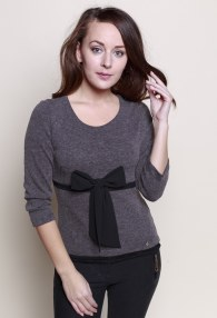 RINASCIMENTO GREY SWEATER