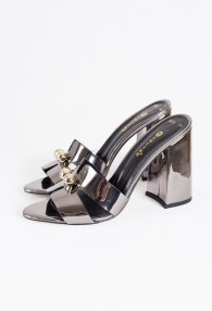 TUCINO SILVER HEELS SHOES