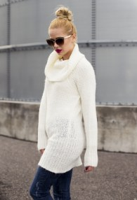 MITIKA CREAM LONG SWEATER