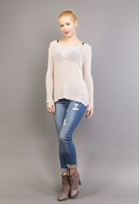 LE STREGHE BEIGE SWEATER