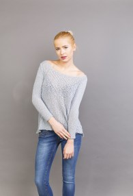 LE STREGHE GREY SWEATER