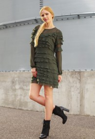 BABYLON GREEN DRESS