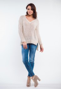 ANTONELLO SERIO BEIGE SWEATER
