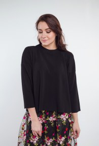 VICOLO BLACK SWEATER