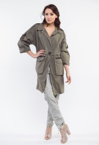 MARYLEY KHAKI COAT