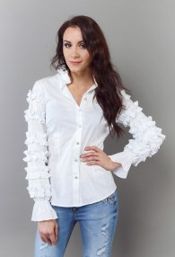 SERPIL WHITE SHIRT