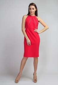 RINASCIMENTO RASPBERRY DRESS