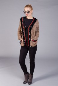 BABYLON GOLD SWEATER